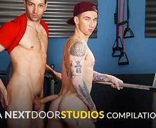 There is nothing sexier than handsome guys pumping iron and pounding ass at the gym. Be delighted by this gorgeous collection of the fittest and horniest studs in the industry getting at it after a full workout.