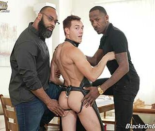 Mr Ray Diesel has recently employed himself a Houseboy by the name of Barrett and he does love his new job. Mr Diesel has him wear lots of special outfits and has trained him well to provide every kind of service.